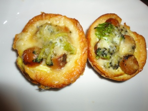Broccoli Sausage Cups